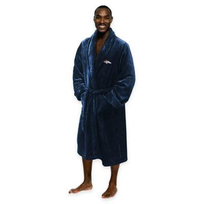 NFL Denver Broncos Men's Large/X-Large Silk Touch Bath Robe