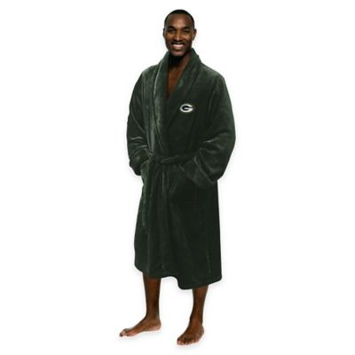 NFL Green Bay Packers Men's Large/X-Large Silk Touch Bath Robe