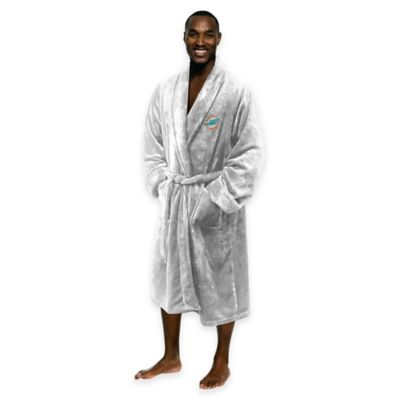 NFL Miami Dolphins Men's Large/X-Large Silk Touch Bath Robe