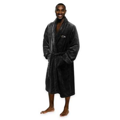NFL Baltimore Ravens Men's Large/X-Large Silk Touch Bath Robe