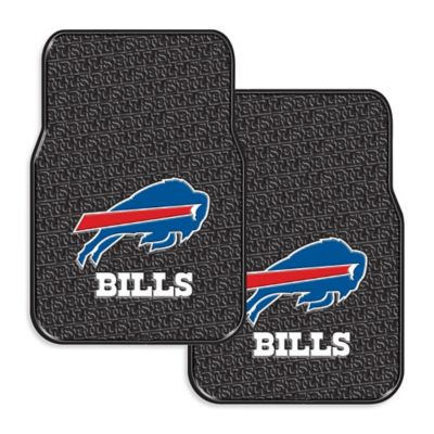 NFL Buffalo Bills Rubber Car Mats (Set of 2)