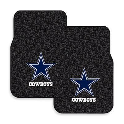 NFL Dallas Cowboys Rubber Car Mats (Set of 2)