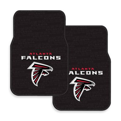NFL Atlanta Falcons Rubber Car Mats (Set of 2)