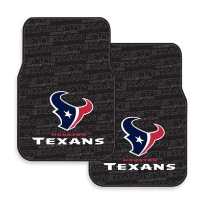 NFL Houston Texans Rubber Car Mats (Set of 2)