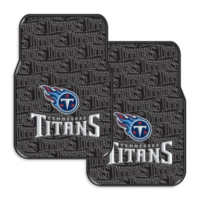 NFL Tennessee Titans Rubber Car Mats (Set of 2)