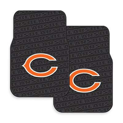 NFL Chicago Bears Rubber Car Mats (Set of 2)