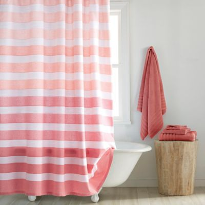 Croscill® Highline Shower Curtain in Coral