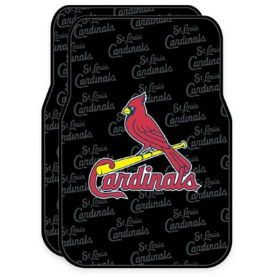 MLB St. Louis Cardinals Rubber Car Floor Mats (Set of 2)