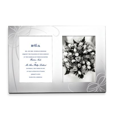 kate spade new york Belle Boulevard Metal Invitation Frame