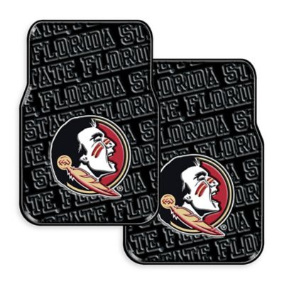Florida State University Rubber Car Floor Mats (Set of 2)