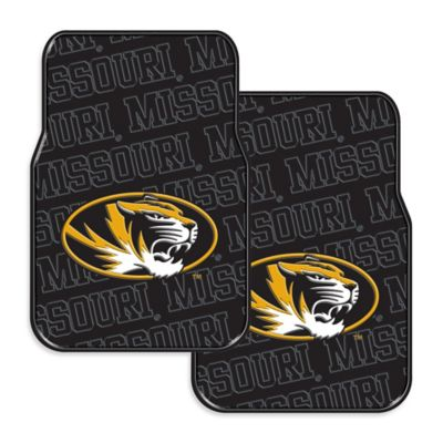 University of Missouri Rubber Car Floor Mats (Set of 2)