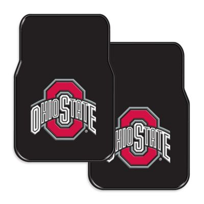 Ohio State University Rubber Car Floor Mats (Set of 2)