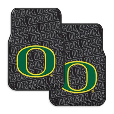 University of Oregon Rubber Car Floor Mats (Set of 2)