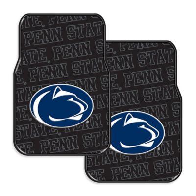 Penn State University Rubber Car Floor Mats (Set of 2)
