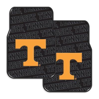 University of Tennessee Rubber Car Floor Mats (Set of 2)