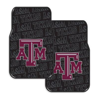 Texas A&M University Rubber Car Floor Mats