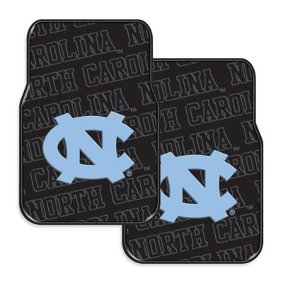 University of North Carolina Rubber Car Floor Mats (Set of 2)