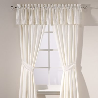 Manor Hill® Verona Window Valance in Natural