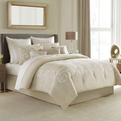 Manor Hill® Verona California King Comforter Set in Natural