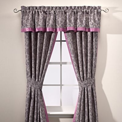 Manor Hill® Cortlandt Window Valance in Grey