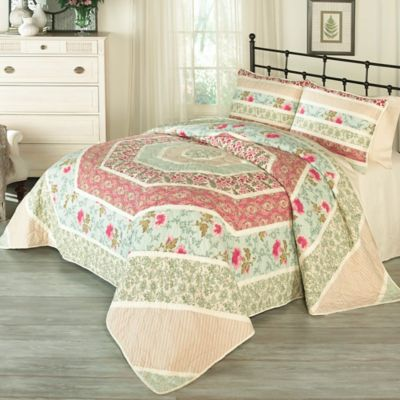 Historic Charleston™ Collection Maiden Lane Queen Quilt Set