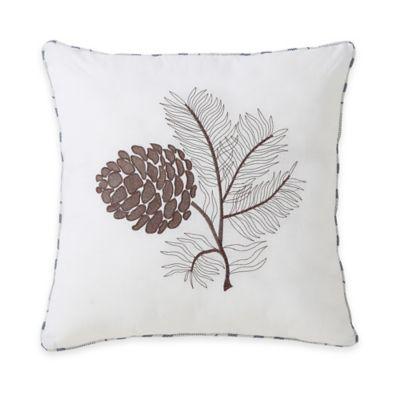 Victoria Classics® Lodge Square Throw Pillow