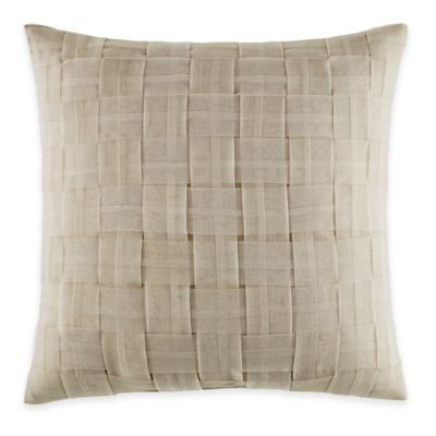 Manor Hill® Verona Square Throw Pillow in Natural