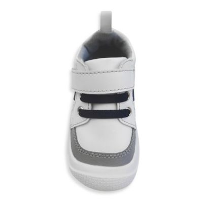 Rising Star™ Training Heels™ Size 4 High-Top Sneaker in White