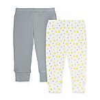 SKIP*HOP® ABC-123 Size 3M 2-Pack Baby Pants in Grey