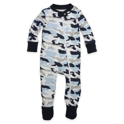 Burt's Bees Baby® Bee Sleeper Size 12M Organic Cotton Footed Pajama in Camo