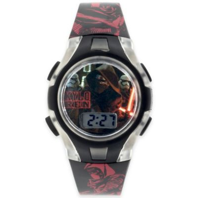 Star Wars™ Episode 7 Flashing Lights LCD Watch with Clear Case