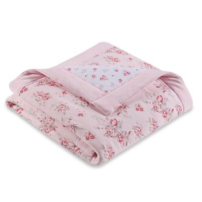 Little Me® Whimsical Blanket in White/Pink