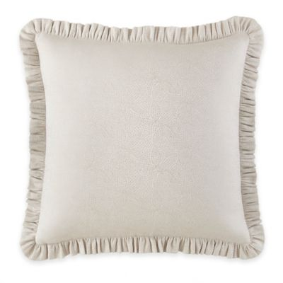 Waterford® Linens Genevieve European Pillow Sham in Ivory
