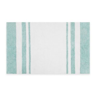 Madison Park Reversible Cotton 20-Inch x 30-Inch Bath Rug
