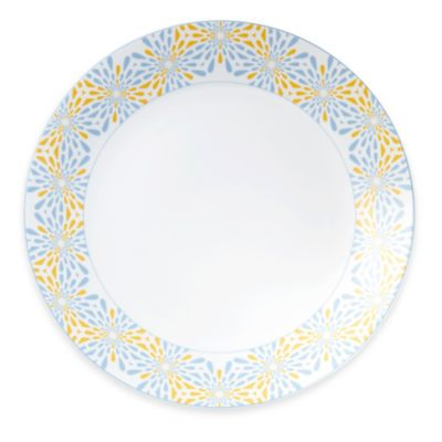 B by Brandie™ Frazier Charger Plate in Yellow/Grey