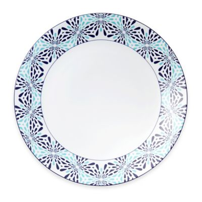 B by Brandie™ Frazier Charger Plate in Turquoise/Navy