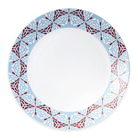 Beaded Charger Plates In Red Bed Bath