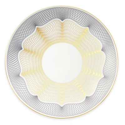 B by Brandie™ Channing Charger Plate in Black/Gold