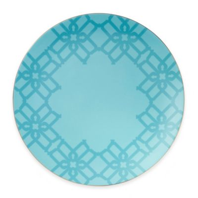 B by Brandie™ Whitney Charger Plate in Turquoise/Gold