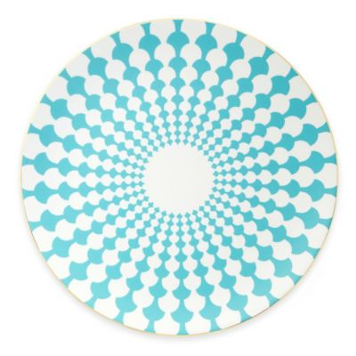 B by Brandie™ Zelda Charger Plate in Turquoise/Gold