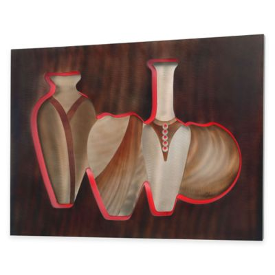 Vessels Electric Lighted Wall Art