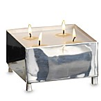 Black Python Small Square Candle