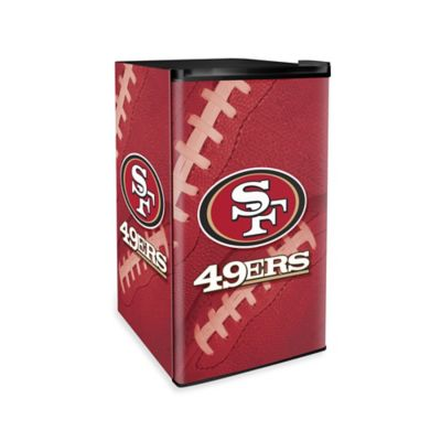 NFL San Francisco Countertop Height Refrigerator