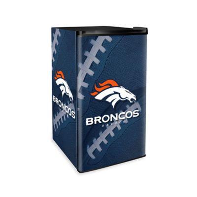NFL Denver Broncos Countertop Height Refrigerator