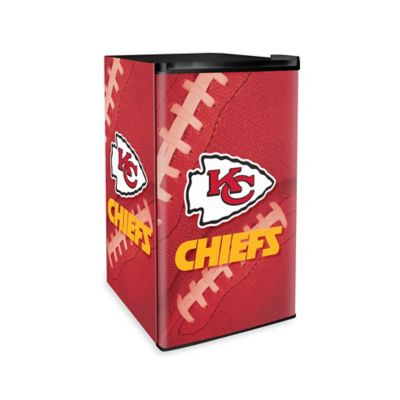 Countertop Height Fridge : NFL Kansas City Chiefs Countertop Height Refrigerator