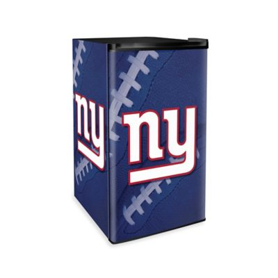NFL New York Giants Countertop Height Refrigerator