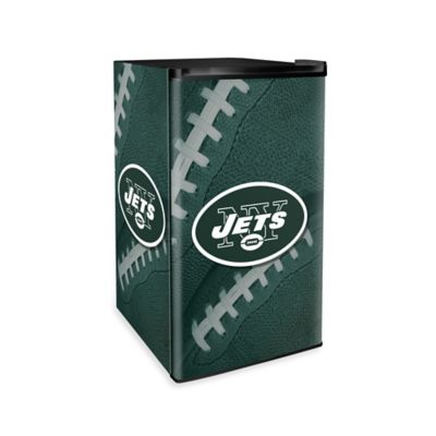 NFL New York Jets Countertop Height Refrigerator