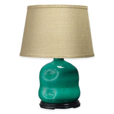 Jamie Young Dimple Jug Table Lamp in Turquoise