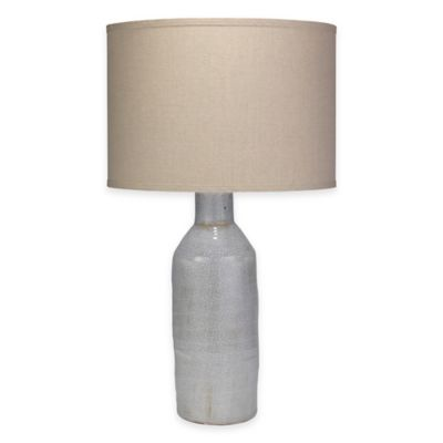 Jamie Young Dimple Carafe Table Lamp in Lilac