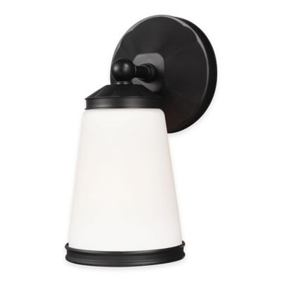 Feiss® Eastwood 1-Light Wall Sconce in Oil Rubbed Bronze with CFL Bulb